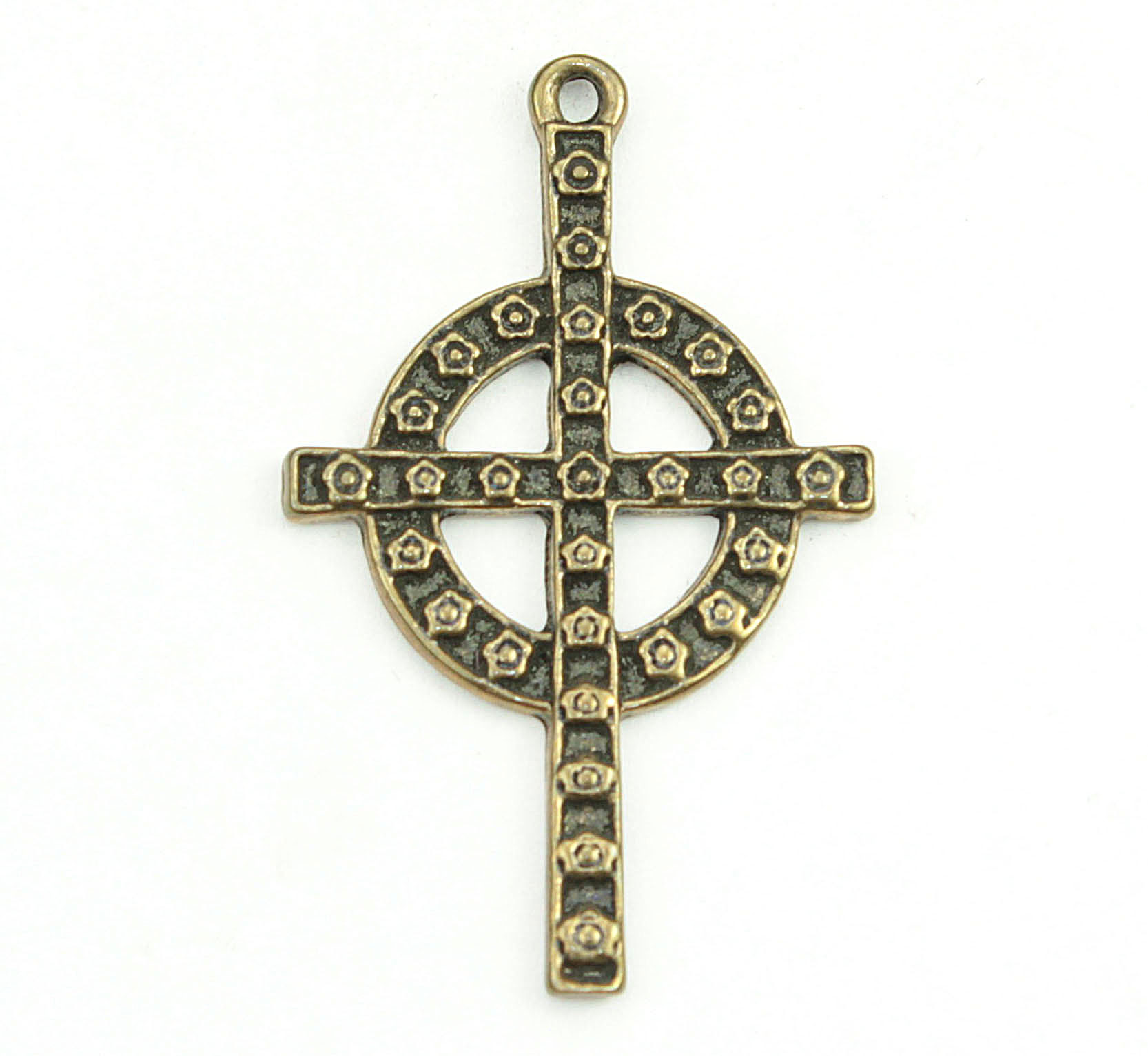 gem cross red jerusalem with necklace zircon product garnet pendant gems gold plated min